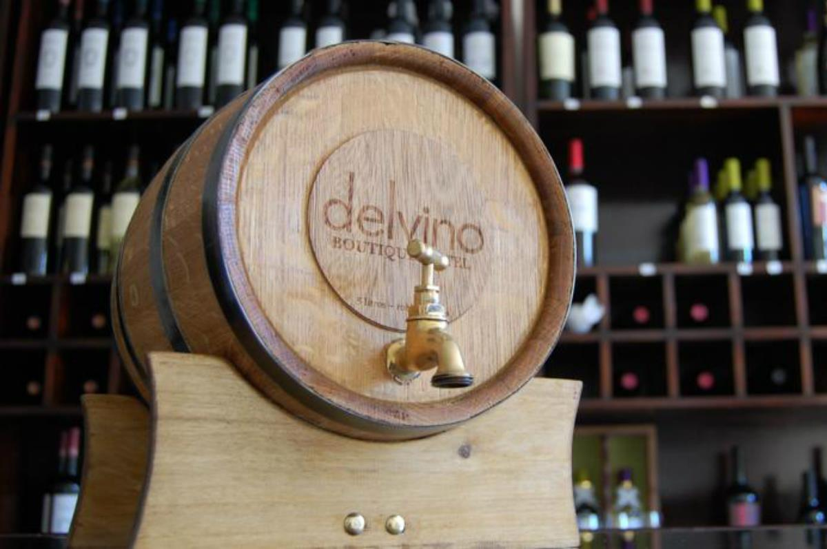 Delvino Boutique Hotel – Winiarnia