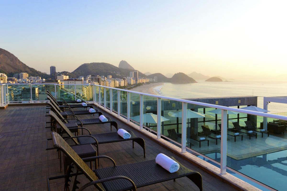 Hotel Pestana Rio Atlantica – Taras