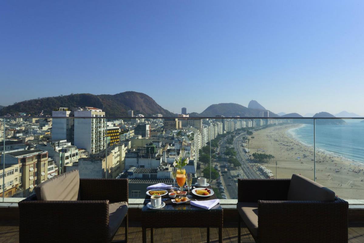 Hotel Pestana Rio Atlantica – Widok