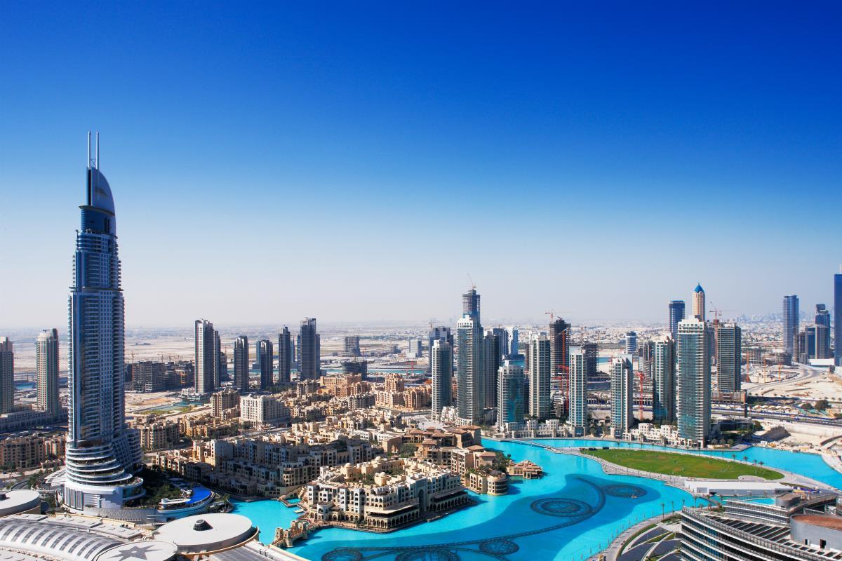 Dubaj – Downtown