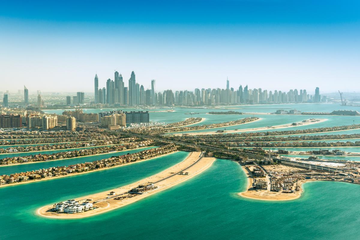 Dubaj – Wyspy Palmowe