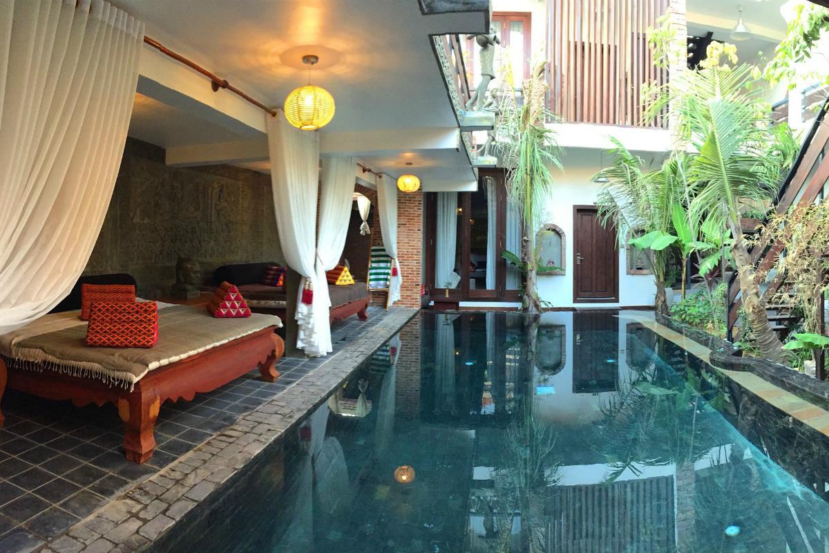 Cambana d'Angkor Suites – Basen