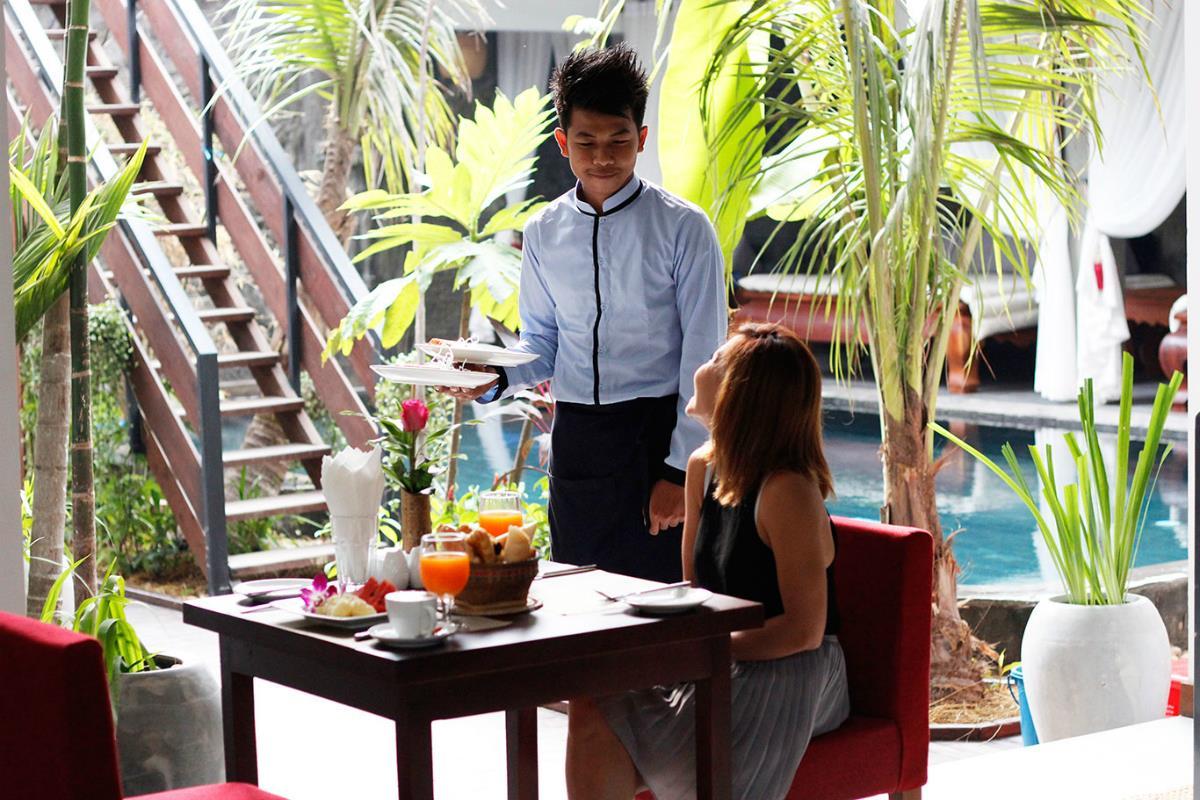 Cambana d'Angkor Suites – Restauracja