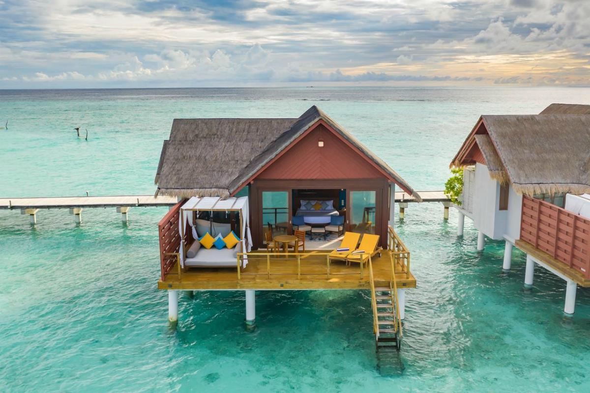 Furaveri Island Resort & Spa – Willa na wodzie