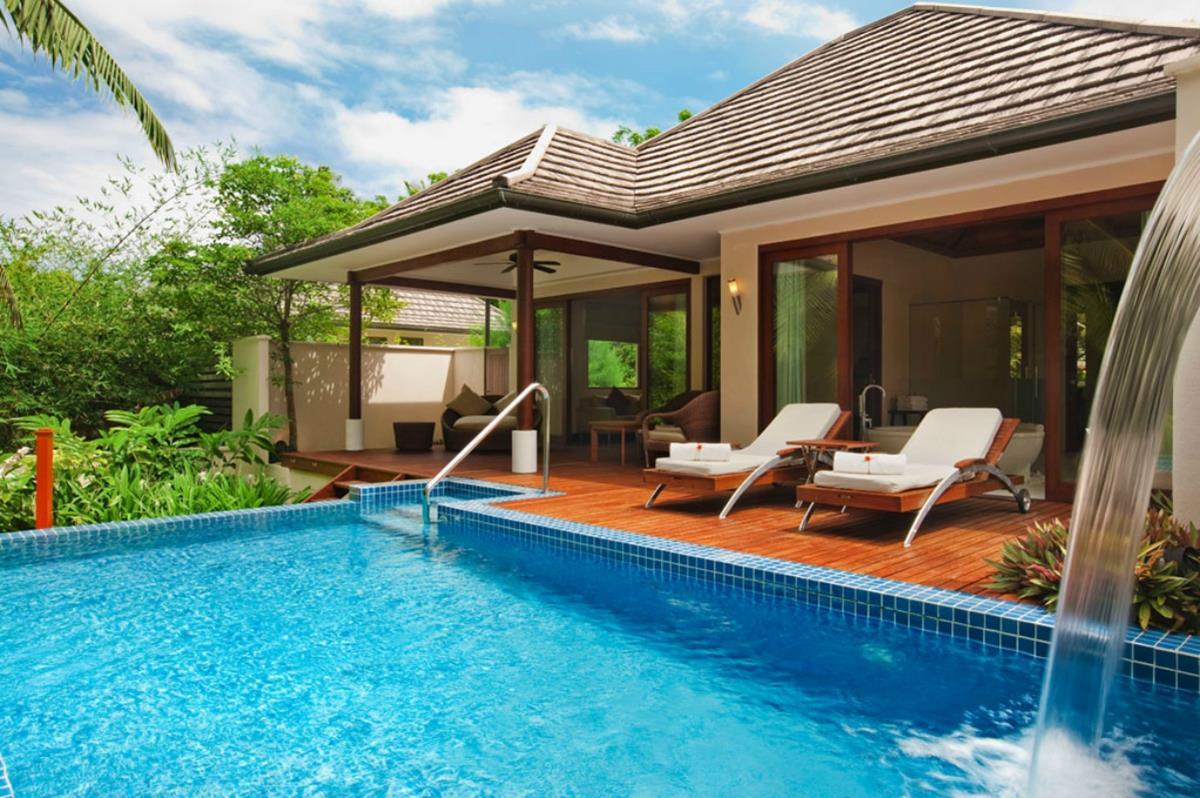 Hilton Labriz – Deluxe Hillside Pool Villa