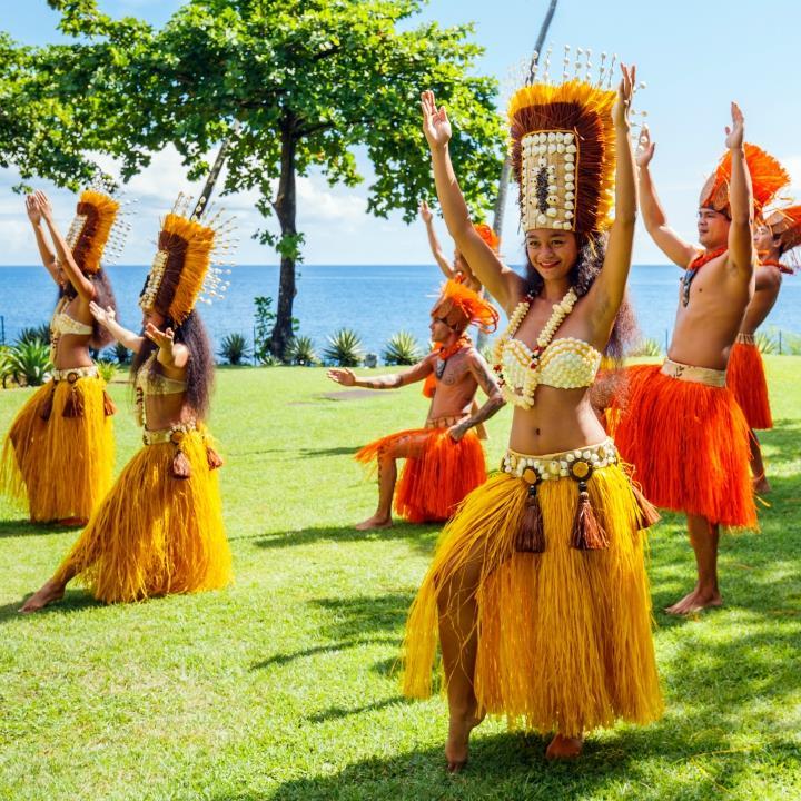 Taniec z Tahiti