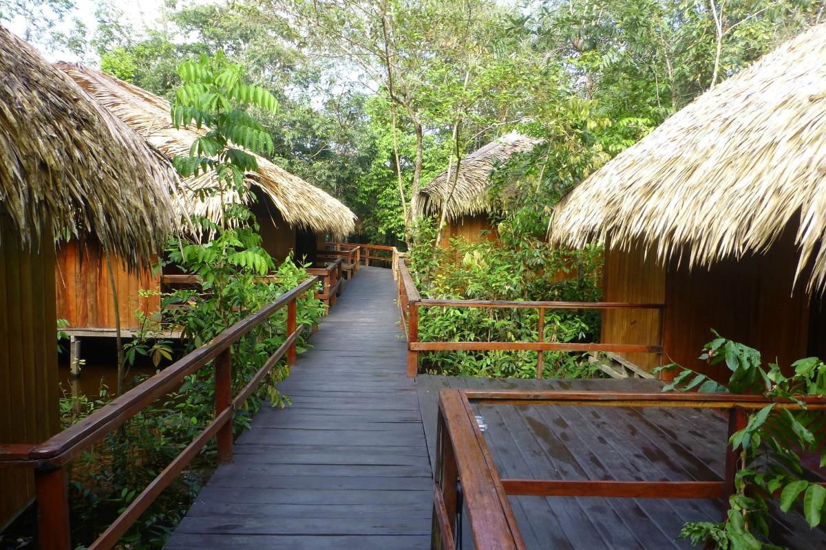 Juma Amazon Lodge – Bungalowy