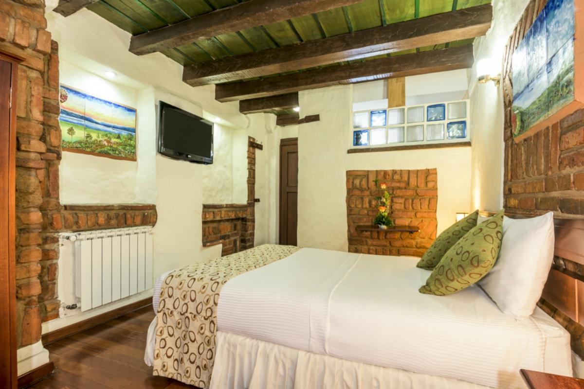 Hotel Muisca – Pokój Dwuosobowy