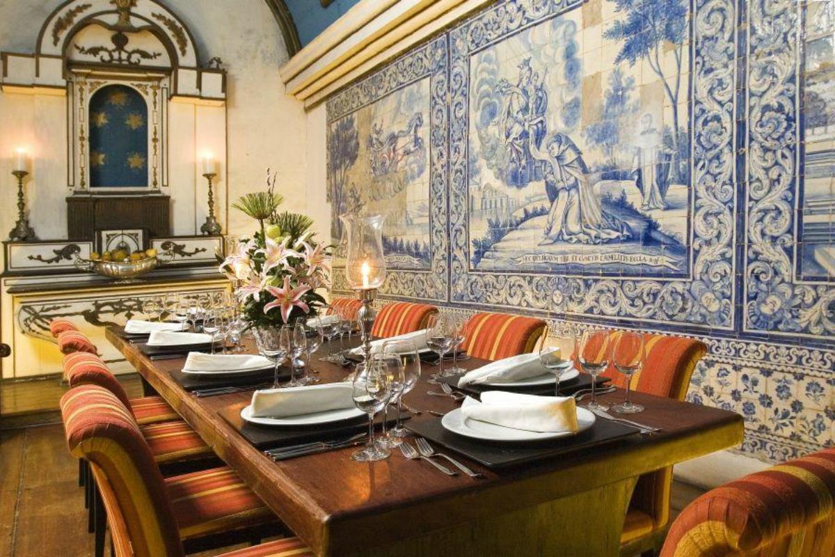 Pestana Convento do Carmo – Restauracja