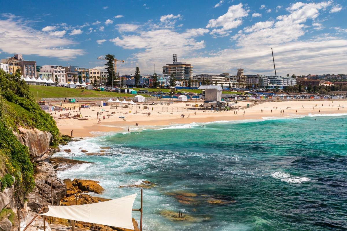 Sydney – Plaża Bondi