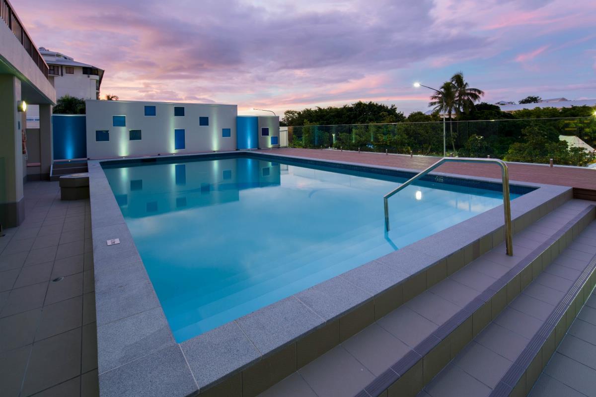 Pacific Hotel Cairns – Basen