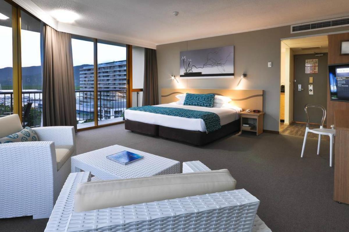 Pacific Hotel Cairns – Pokój Deluxe