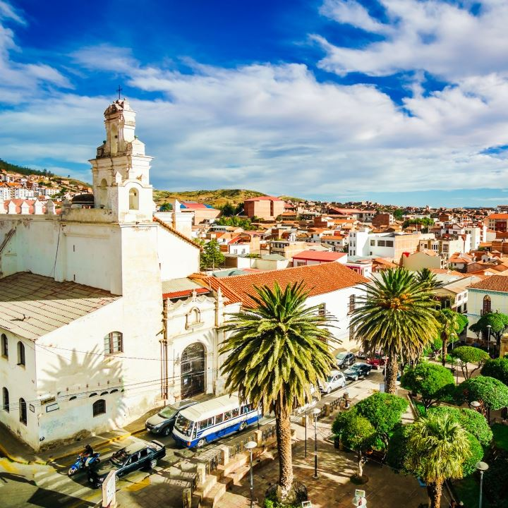 Sucre – białe miasto
