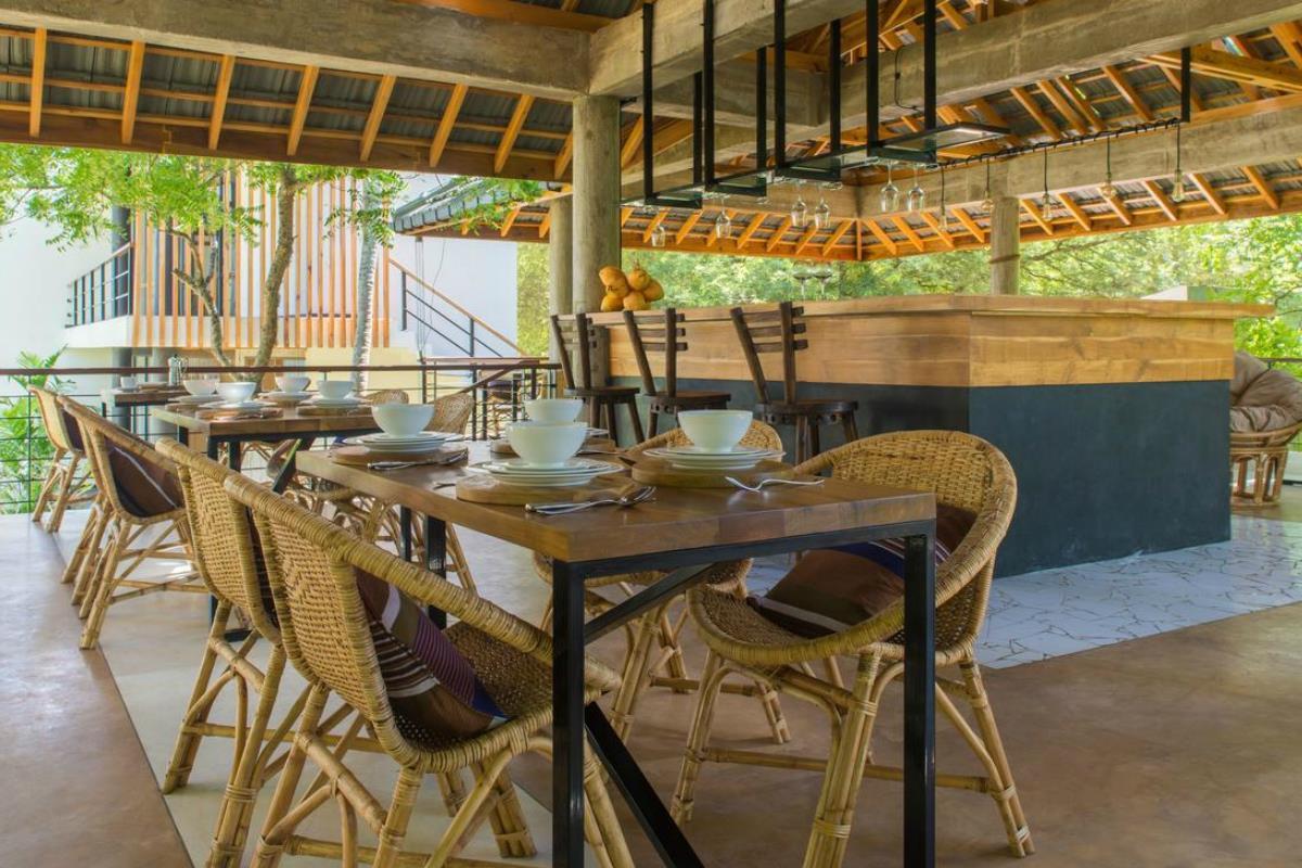 Lankavatara Ocean Retreat – Restauracja