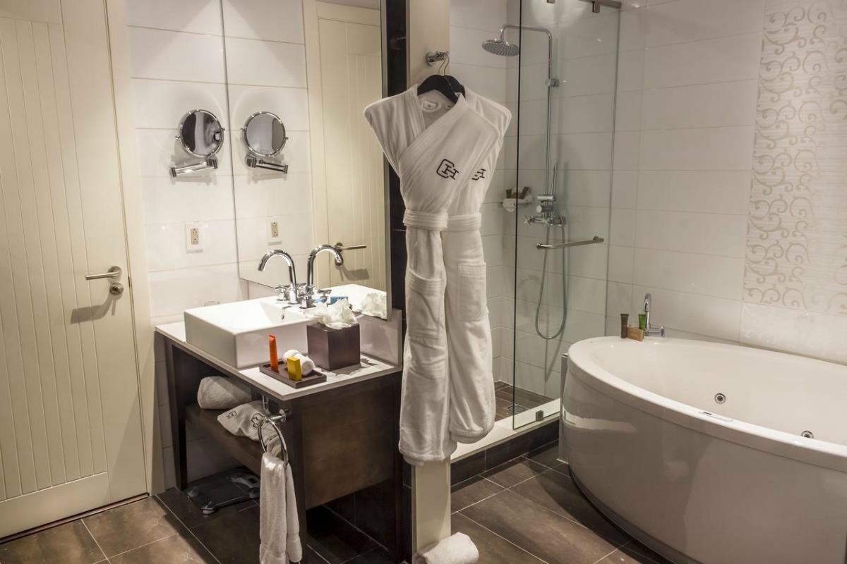 Central Hotel Panama – Łazienka