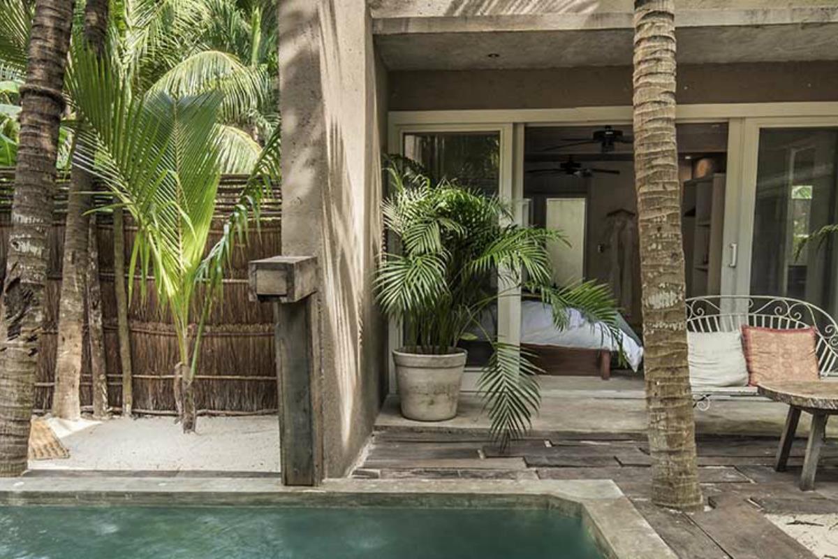 Nomade Tulum – Villa z basenem
