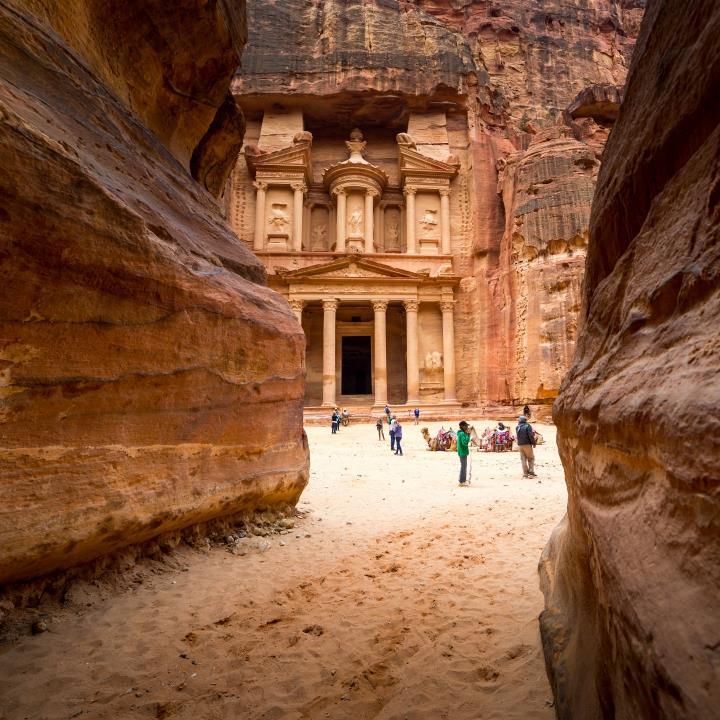 Petra – starożytne miasto wykute w skale