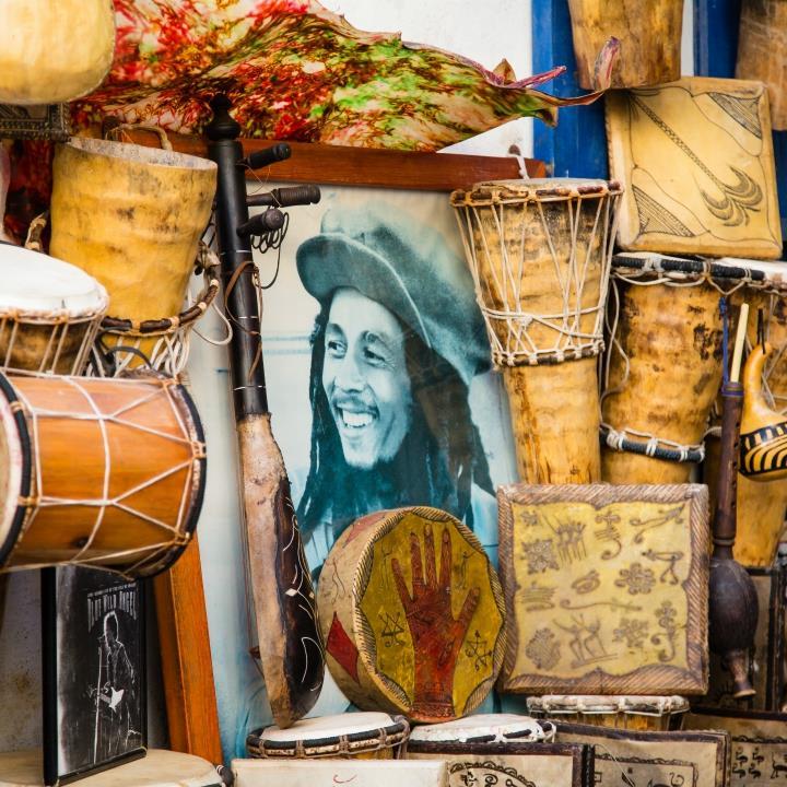 Bob Marley i reggae