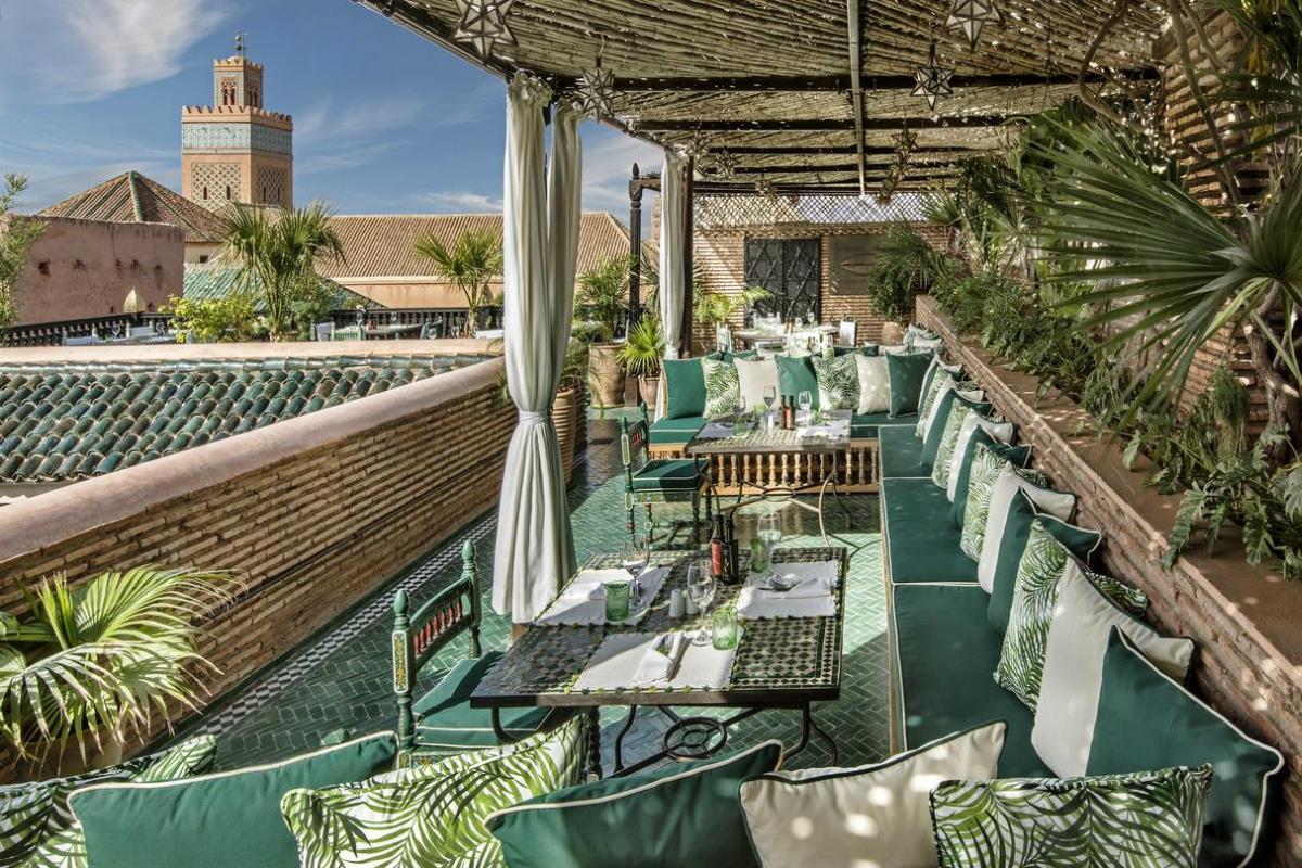 La Sultana Marrakech – Taras na dachu