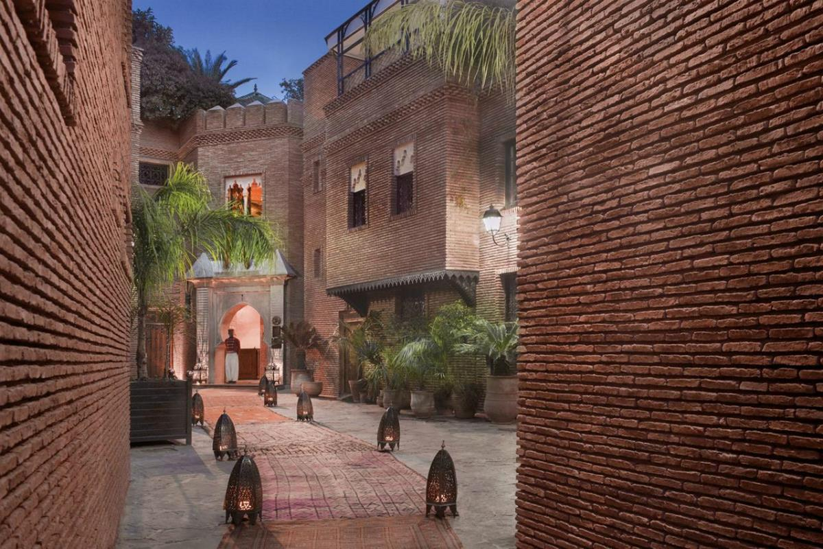 La Sultana Marrakech – Wejście do hotelu