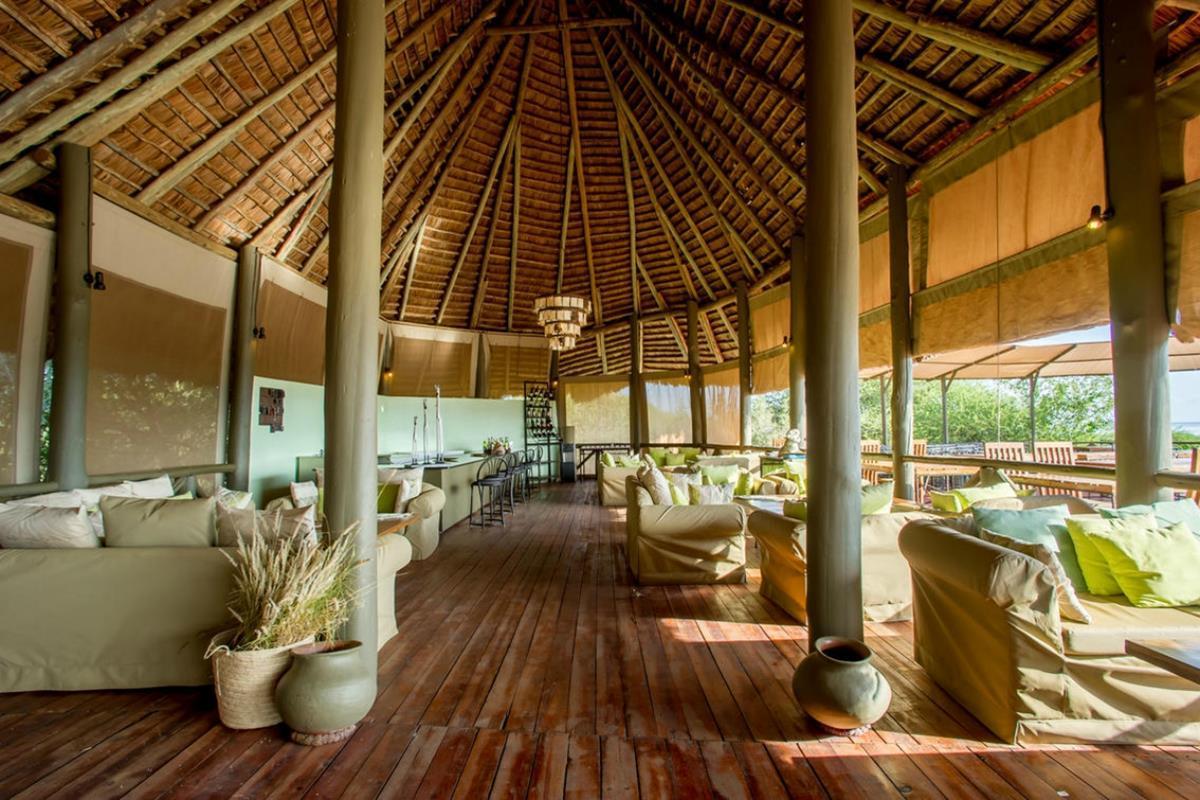 Lake Burunge Tented Lodge – Lounge