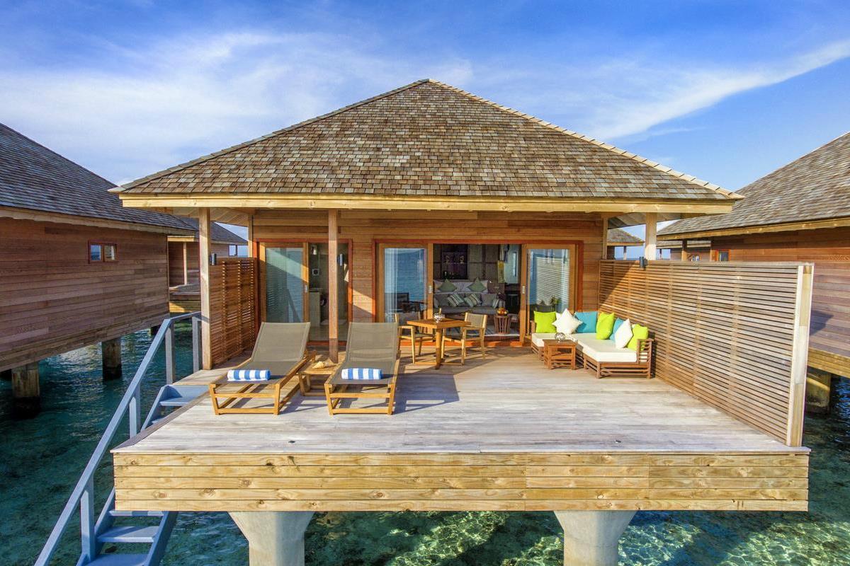 Hurawalhi Island Resort – Willa na wodzie