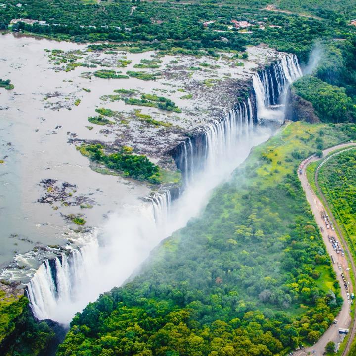 Lot nad Wodospadami Wiktorii