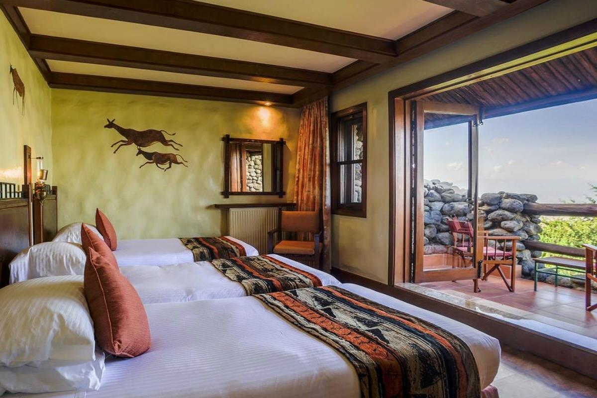 Ngorongoro Serena Safari Lodge – Pokój Standard