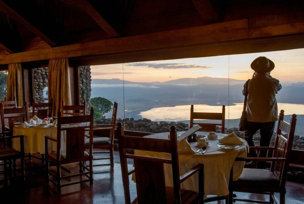 Ngorongoro Serena Safari Lodge – Resturacja
