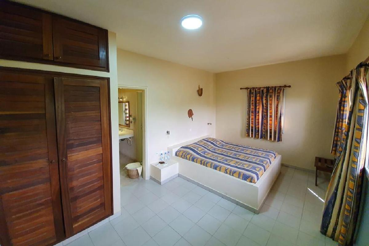 Keur Saloum – Pokój w bungalowie