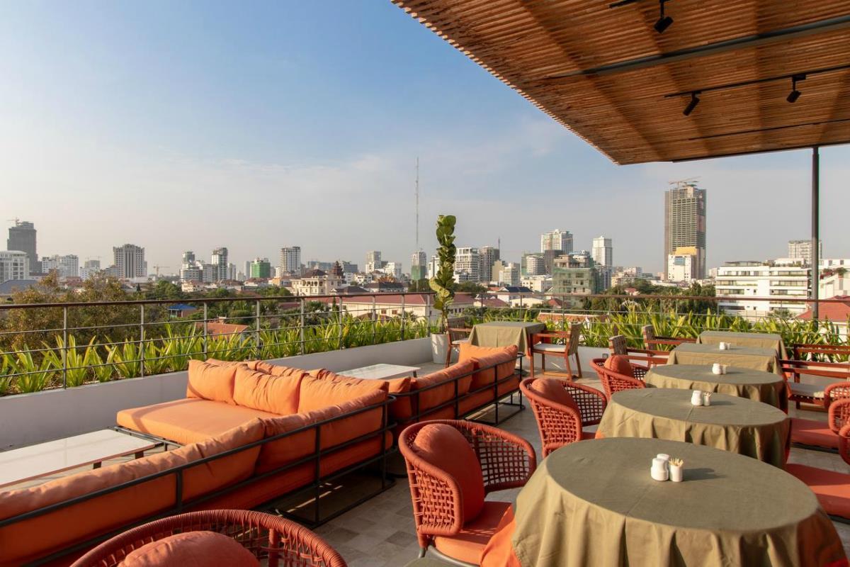 Penh House and Jungle – Restauracja na dachu