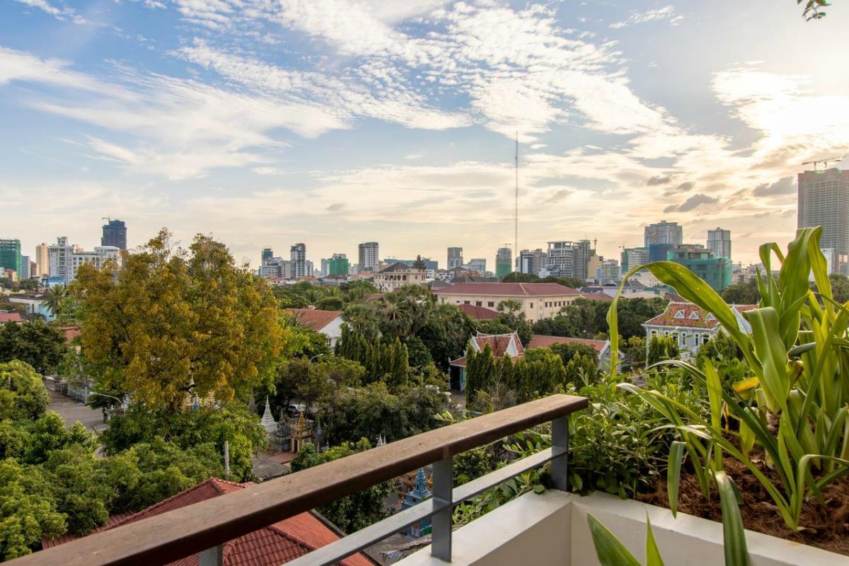 Penh House and Jungle – Widok z hotelu