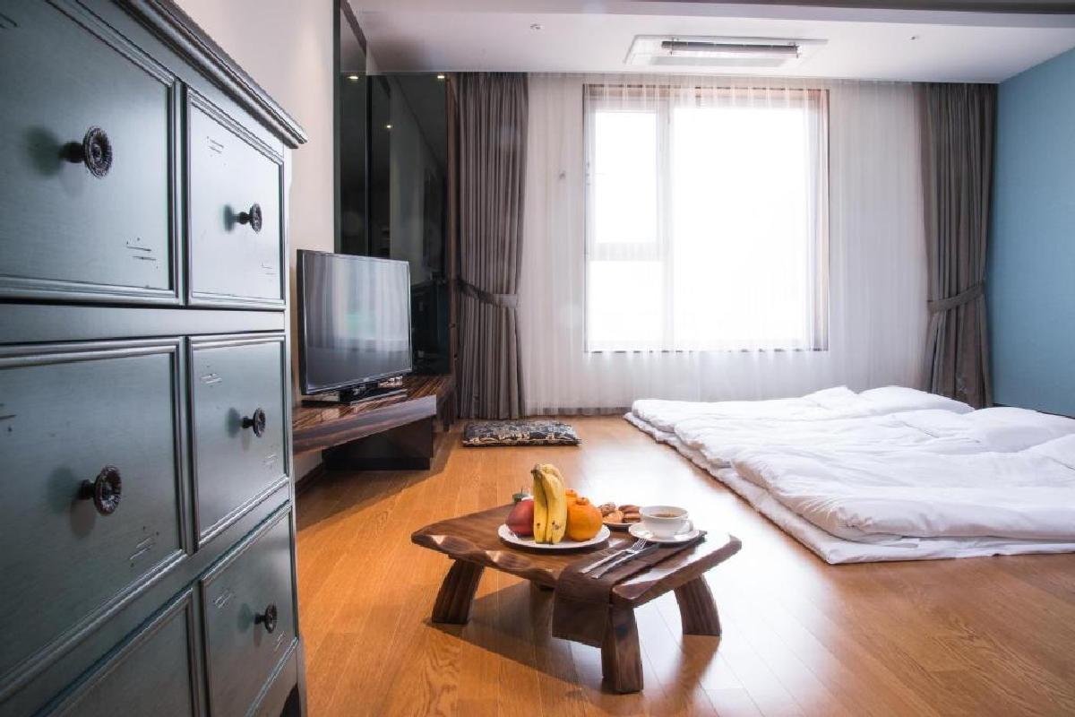 Hotel Leo – Pokój trzyosobowy w stylu koreańskim
