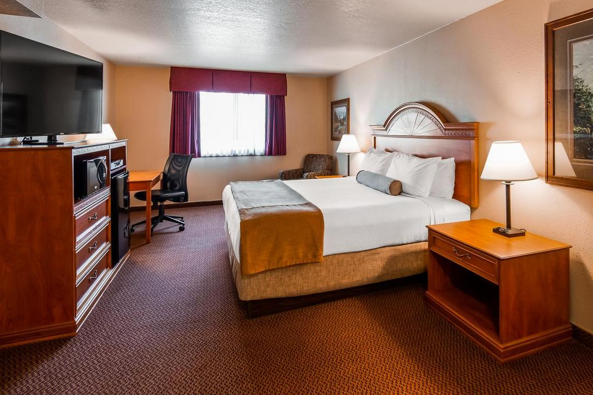 Best Western Bidarka Inn – Pokój z łóżkiem typu King