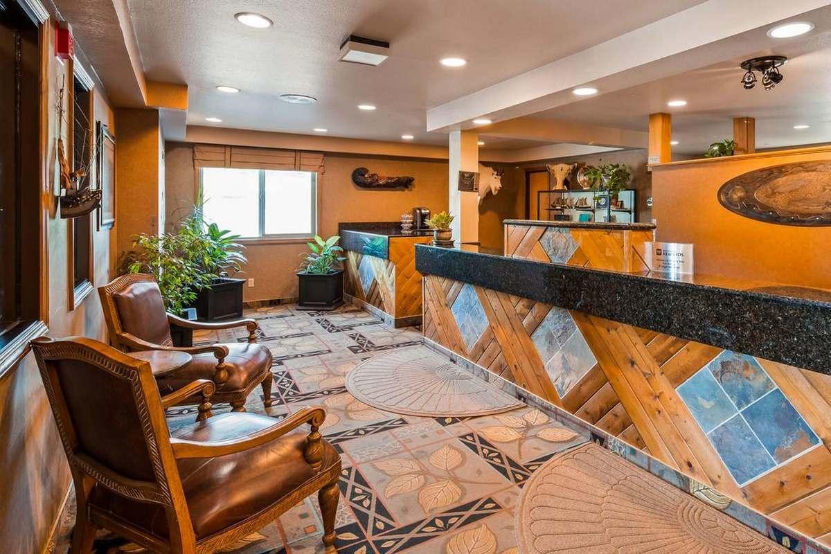 Best Western Bidarka Inn – Recepcja