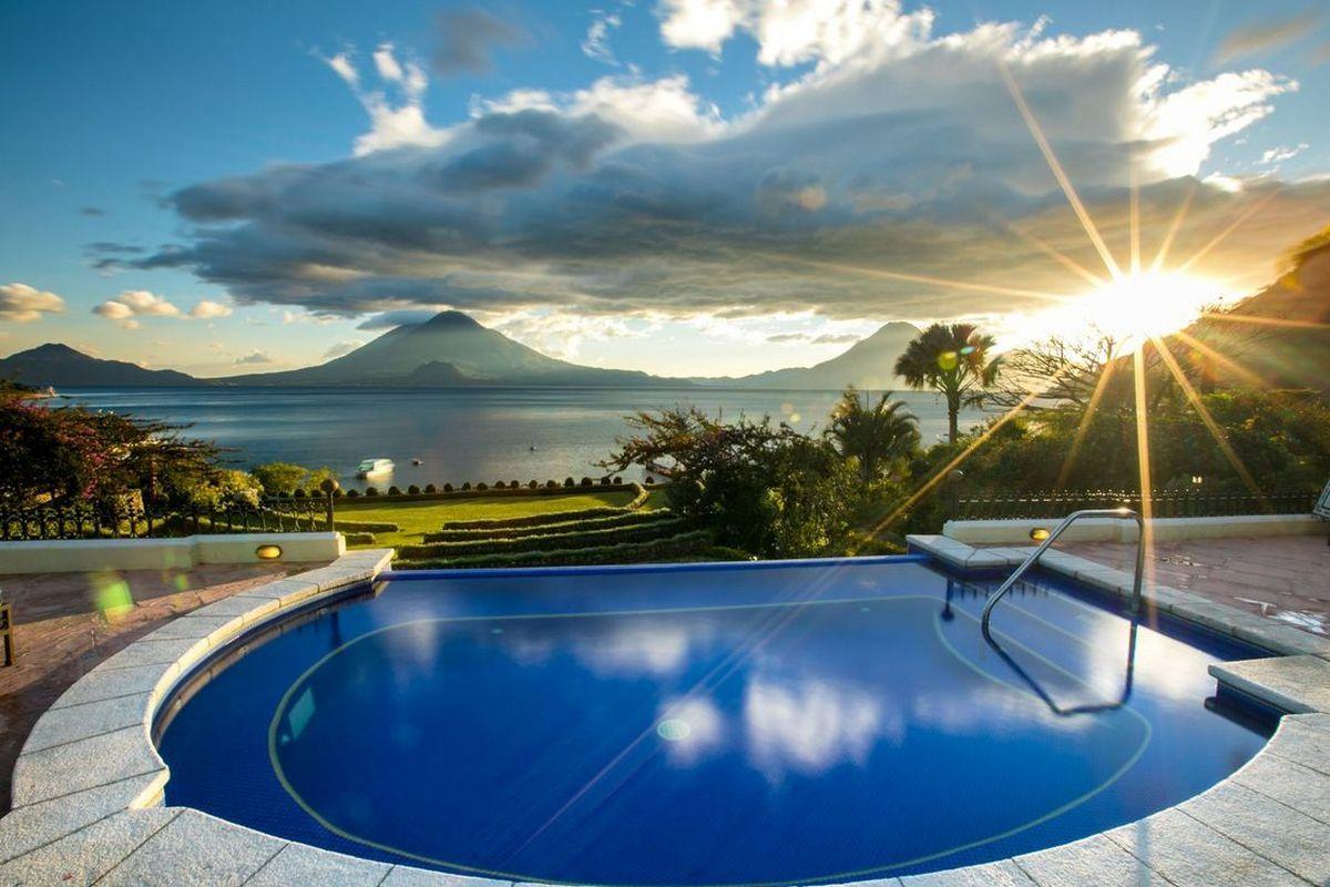 Hotel Atitlan – Basen