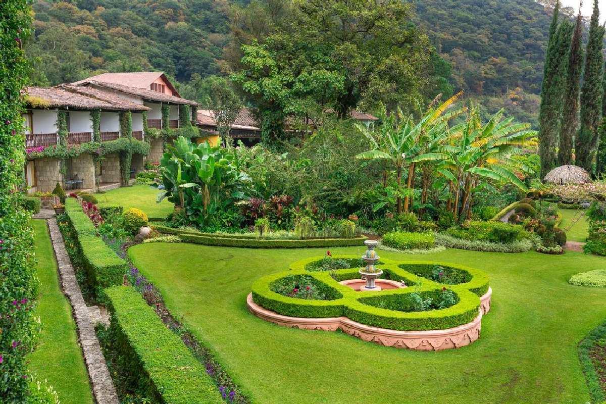 Hotel Atitlan – Ogród
