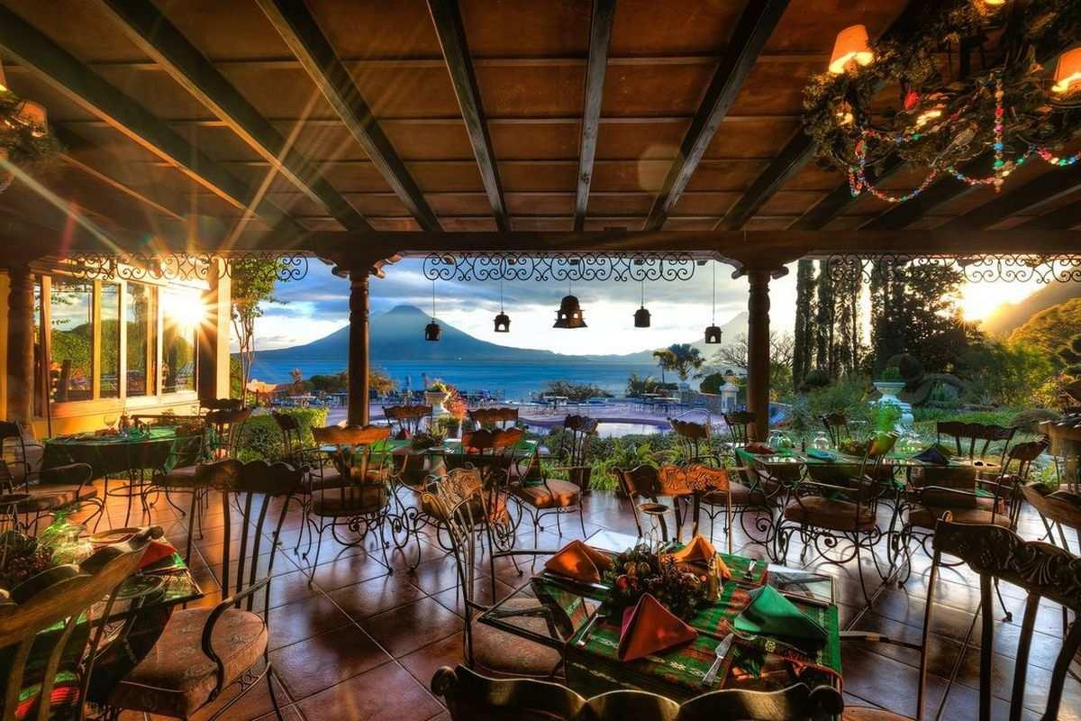 Hotel Atitlan – Restauracja