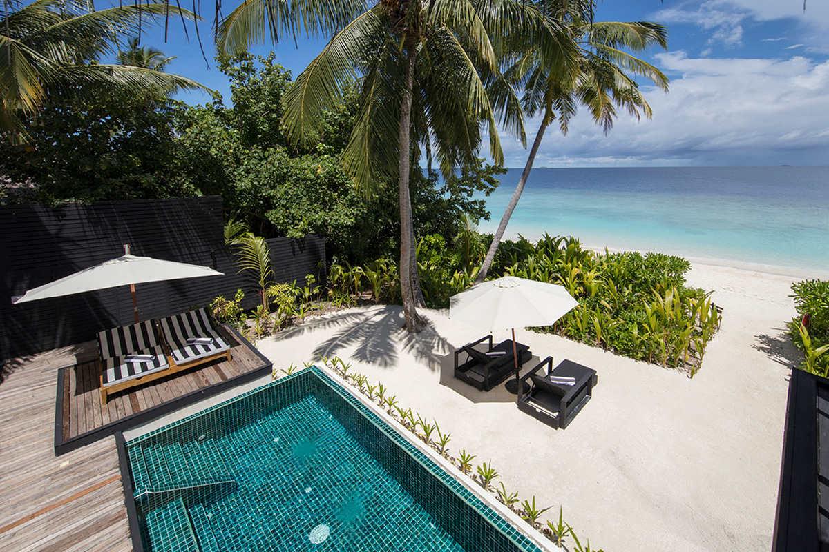 Outrigger Konotta – Beach Villa z dwiema sypialniami i prywatnym basenem