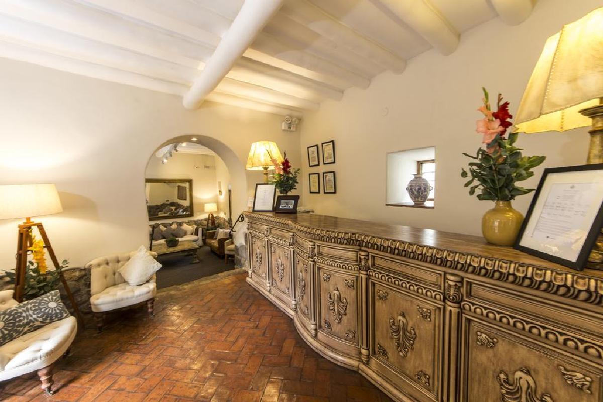 Antigua Casona San Blas – Lobby