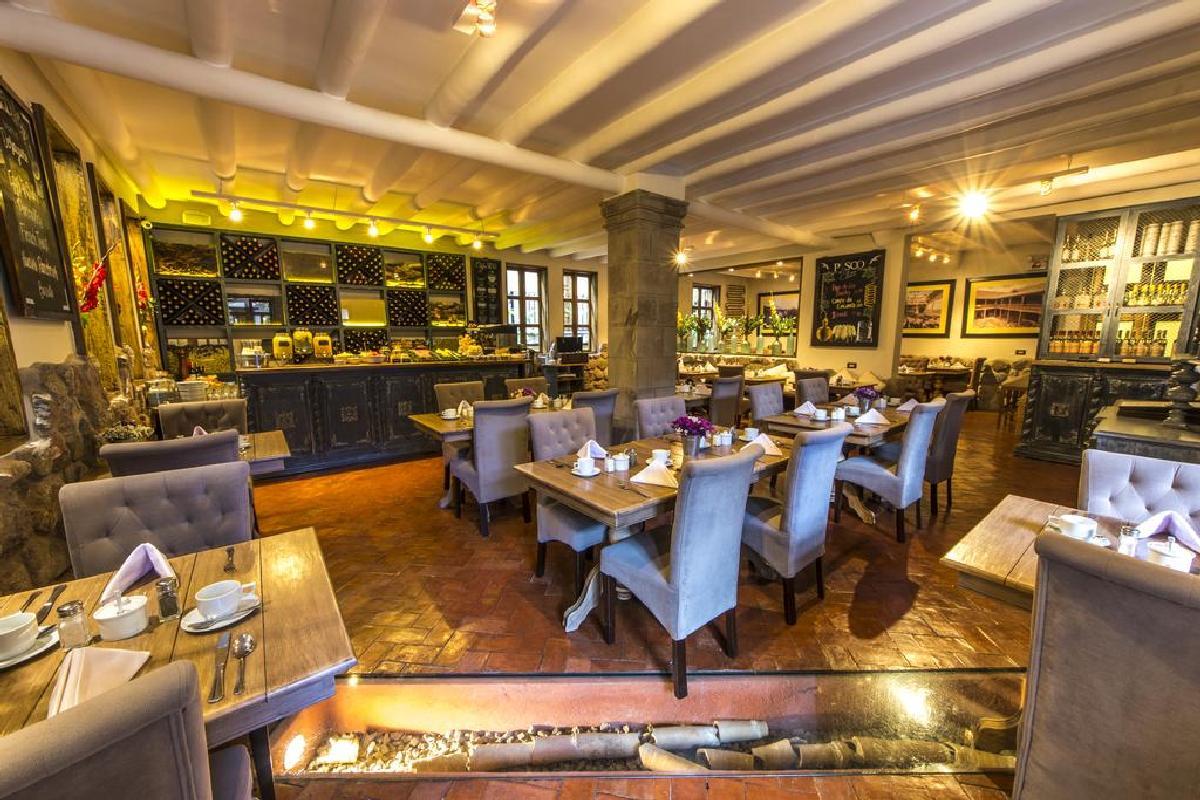 Antigua Casona San Blas – Restauracja