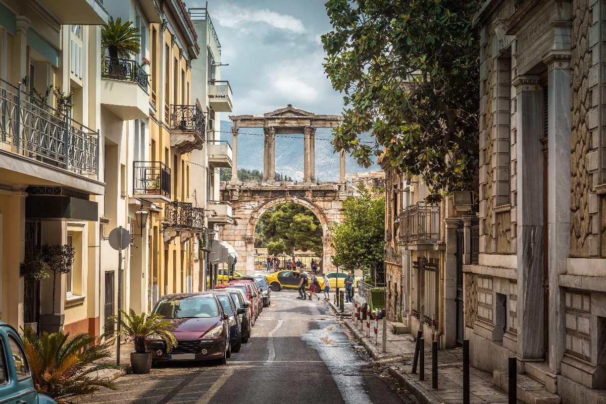 Ateny – Łuk Hadriana