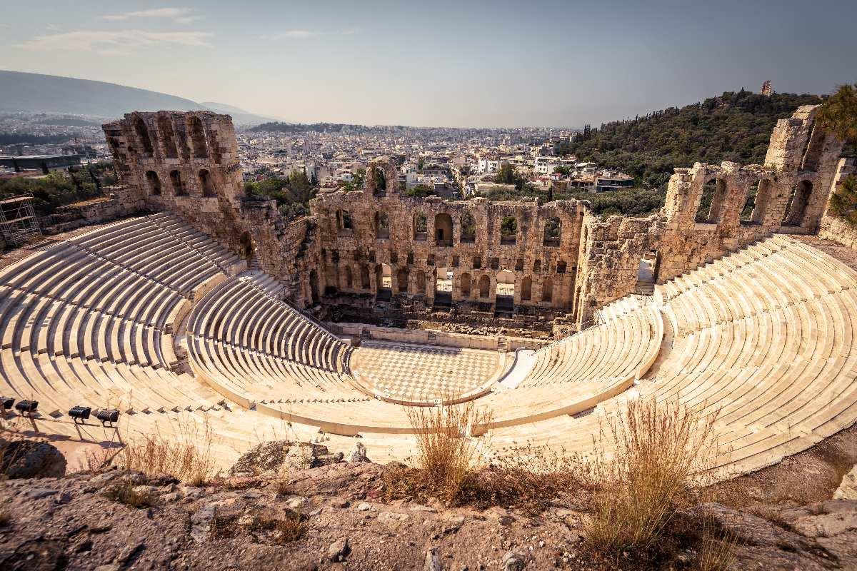 Ateny – Odeon Heroda Attyka