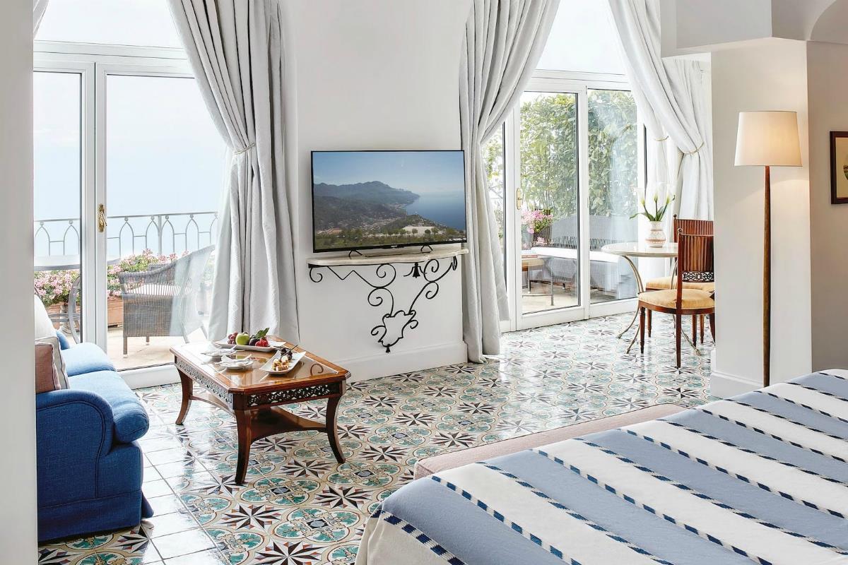 Belmond Hotel Caruso – Executive Jr Suite Sea View