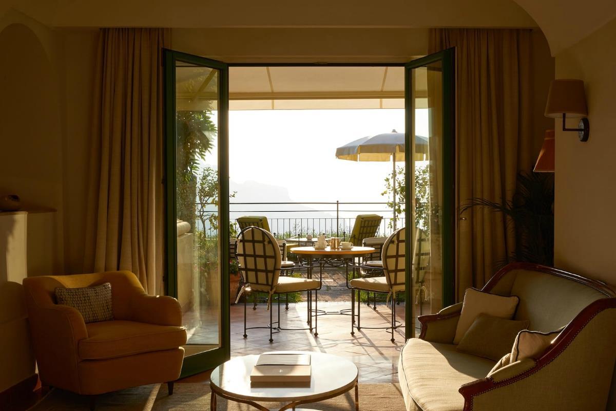 Belmond Hotel Caruso – Sea View Garden Suite