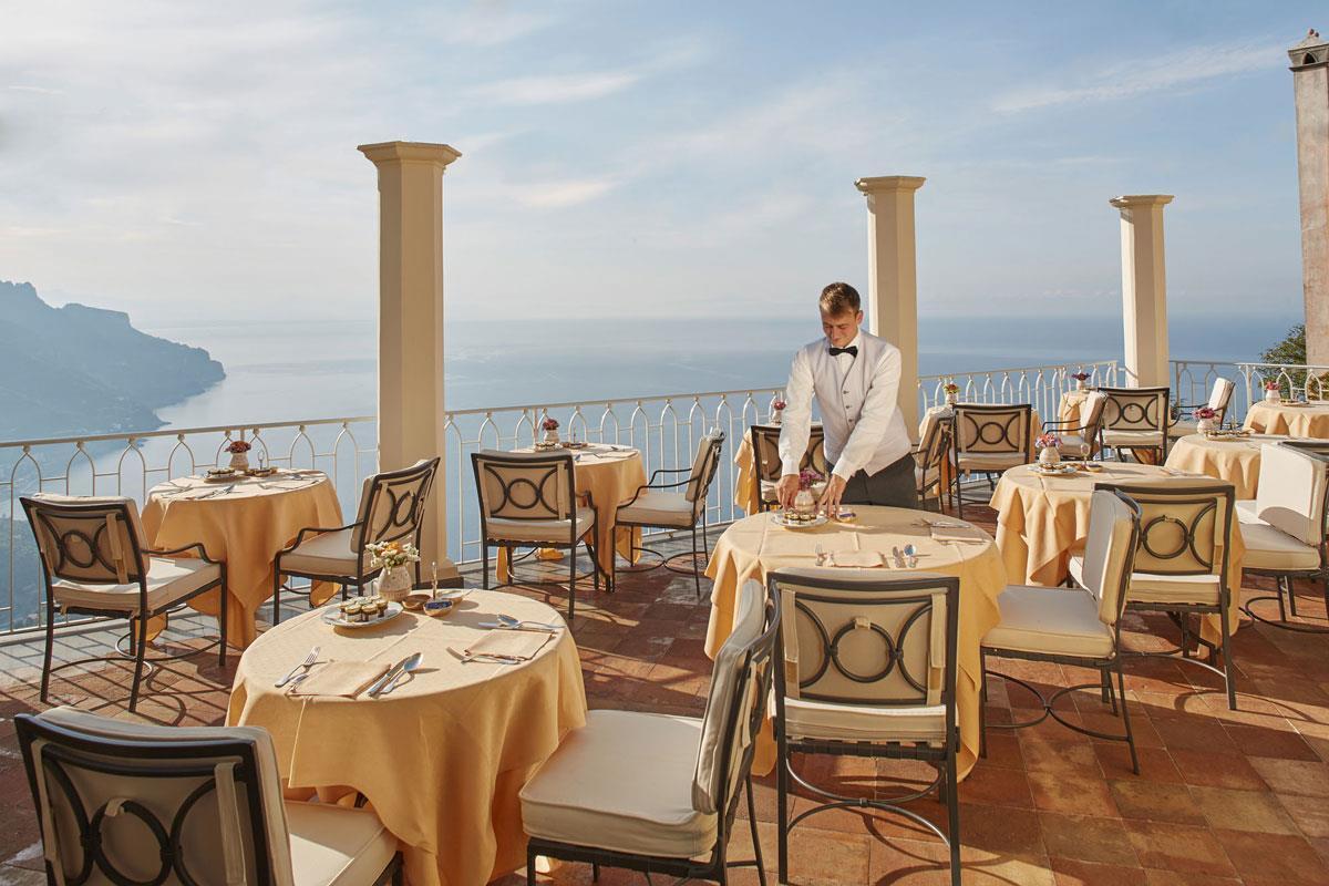 Belmond Hotel Caruso – Restauracja
