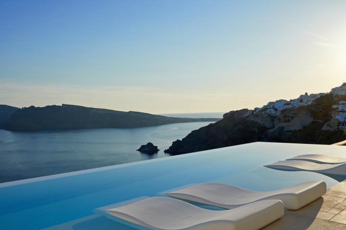 Canaves Oia Suites – Basen