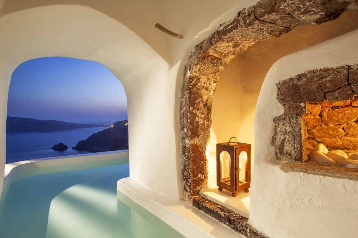 Canaves Oia Suites-River Pool Suite