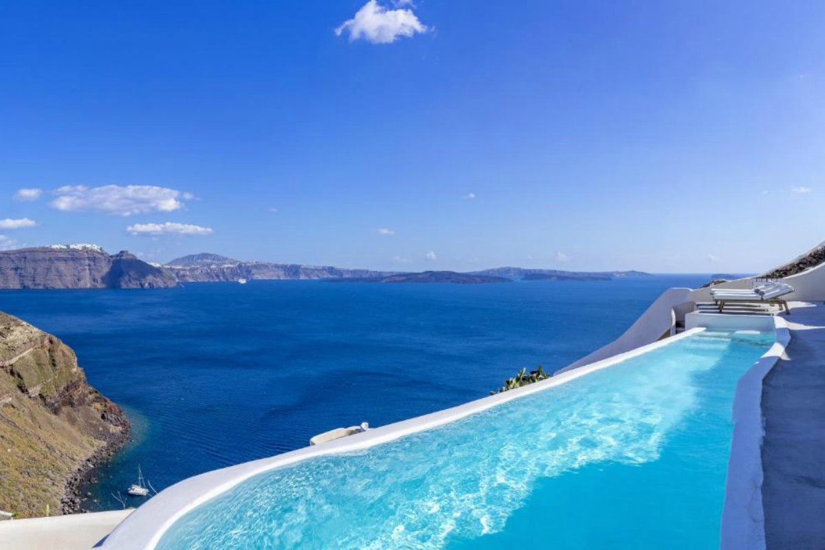Canaves Oia Suites – Three Bedroom Villa with Ifinity Pool