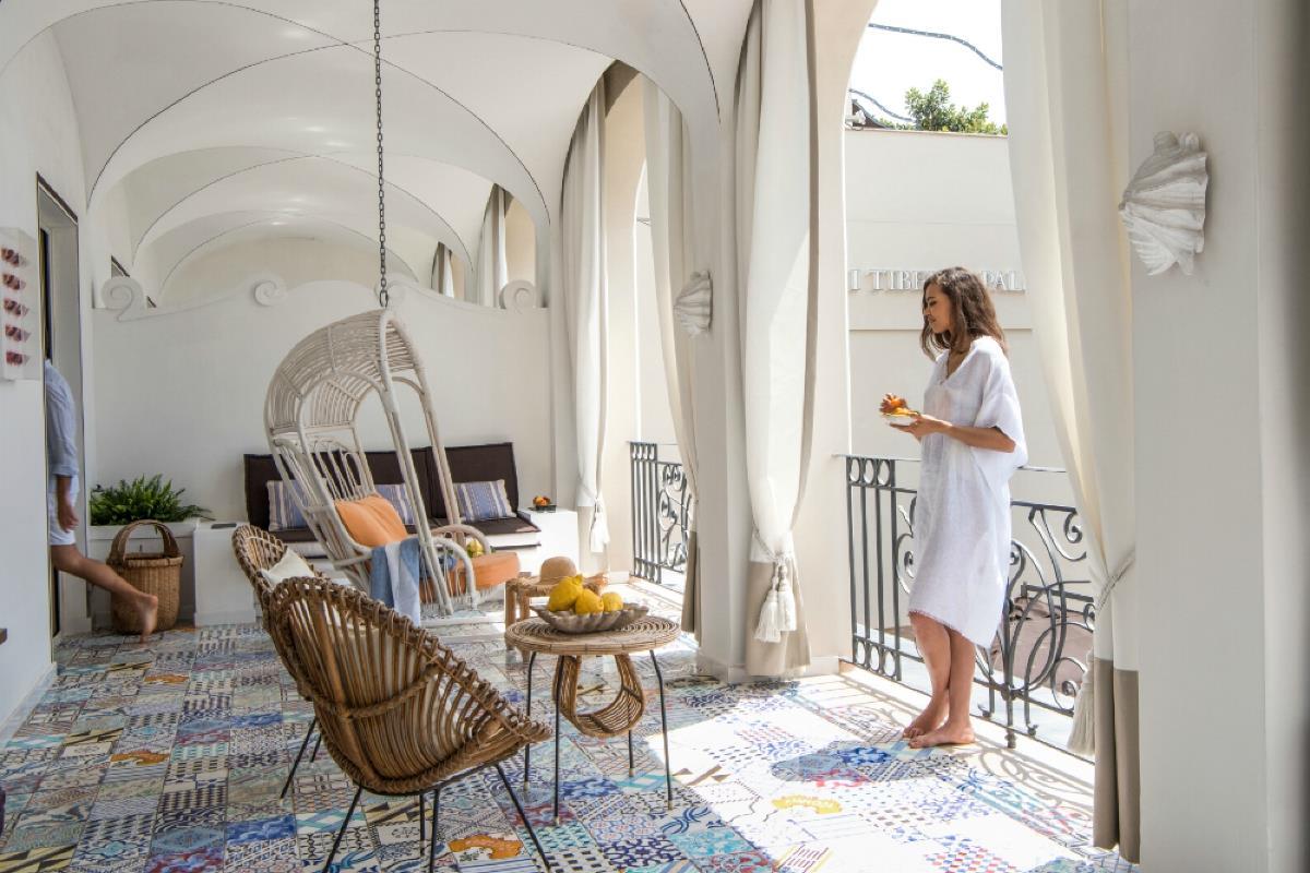 Capri Tiberio Palace – Suite Studio